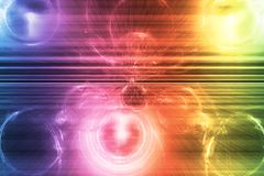 Rainbow Supernova Abstract Background Wallpaper Stock Images