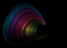 Rainbow surf Royalty Free Stock Images