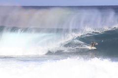 Rainbow Surf Stock Image