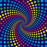 Rainbow Swirl Royalty Free Stock Images