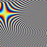 Rainbow swirl Stock Photography