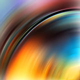 Rainbow swirl background Royalty Free Stock Photos