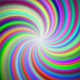 Rainbow swirl background Royalty Free Stock Images