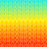 Rainbow swirls dot pattern. Wave background. Royalty Free Stock Image