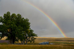 Rainbow at the TA Ranch Stock Photography