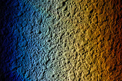 Rainbow Texture. A rainbow reflected on a wall from a window Royalty Free Stock Images