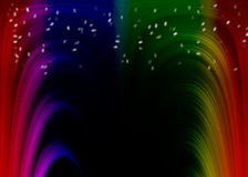 Rainbow texture. Illustration layers background wall paper Stock Image