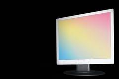 Rainbow TFT sul nero Fotografie Stock Libere da Diritti