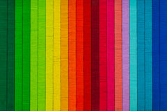 Rainbow thread texture abstract colorful background Stock Photo