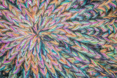 Rainbow threads Royalty Free Stock Images