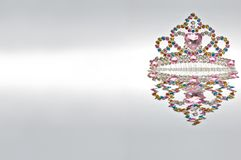 Rainbow Tiara Isolated Royalty Free Stock Image
