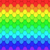 Rainbow Tile Royalty Free Stock Image