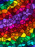 Rainbow Tile Background Stock Image