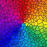 Rainbow Tiles Stock Photos