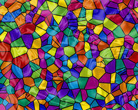 Rainbow Tiles Stock Images
