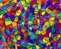 Rainbow Tiles Stock Images