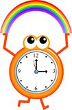 Rainbow time Stock Photography
