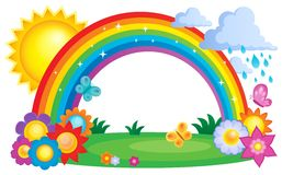 Rainbow topic image 2 Stock Image