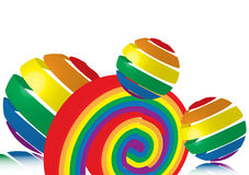 Rainbow Toys Stock Images