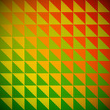 Rainbow triangle mosaic. Stock Photography