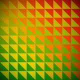 Rainbow triangle mosaic. Stock Photography
