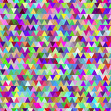 Rainbow triangles seamless pattern background Royalty Free Stock Images