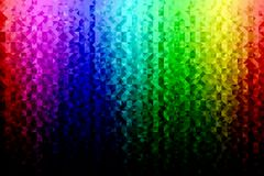 Rainbow triangular background Royalty Free Stock Photos