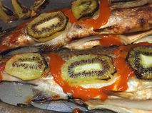 Rainbow trout Stock Photo