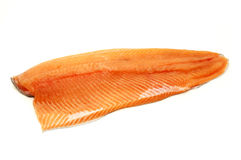 Rainbow trout fillet Stock Image