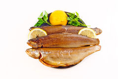 Rainbow trout smoked Royalty Free Stock Images
