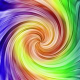 Rainbow twist Royalty Free Stock Photography