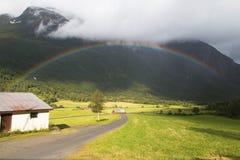 Rainbow two Stock Image