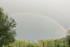 Rainbow2 imagens de stock royalty free