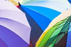 Rainbow Umbrella royalty free stock photography