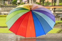 Rainbow umbrella Royalty Free Stock Photography