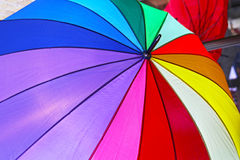 Rainbow umbrella Royalty Free Stock Photo