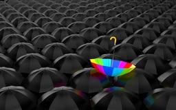 Rainbow umbrella Royalty Free Stock Photo