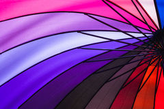 Rainbow umbrella. Stock Photography