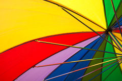 Rainbow umbrella Royalty Free Stock Image