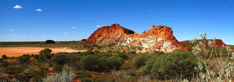 Rainbow Valley, Northern Territory, Australia Royalty Free Stock Photo