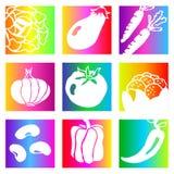 Rainbow vegetables Royalty Free Stock Photos