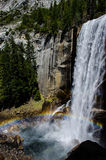 Rainbow at Vernal Falls in Yosemite National Park Royalty Free Stock Images
