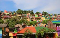 Rainbow Village Semarang stock photos