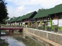 Rainbow Village in Semarang Royalty Free Stock Photos