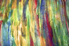 Rainbow vintage paint colors and abstract background Royalty Free Stock Photo