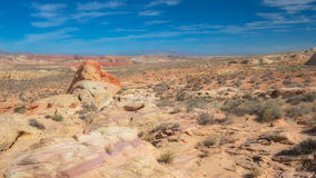 Rainbow Vista Guardian, Valley of Fire State Park, NV Royalty Free Stock Photography