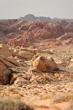 Rainbow Vista, Valley of Fire Royalty Free Stock Images