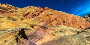 Rainbow Vista Valley of fire Nevada Stock Photo