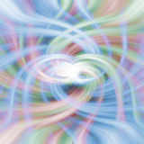 Rainbow vortex Royalty Free Stock Image