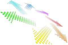 Rainbow Vortex stock photo